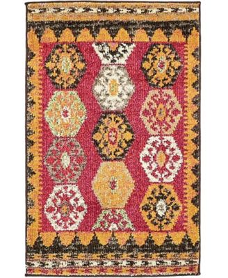 CLOSEOUT! Arcata Arc8 Red 2' x 3' Area Rug