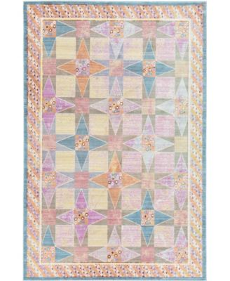 Malin Mal1 Multi 6' x 9' Area Rug