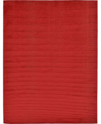 Axbridge Axb3 Red 5' x 8' Area Rug
