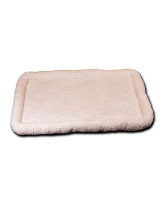 "Ultra Soft Sherpa Bed 42""x26"", Crate Cushion"