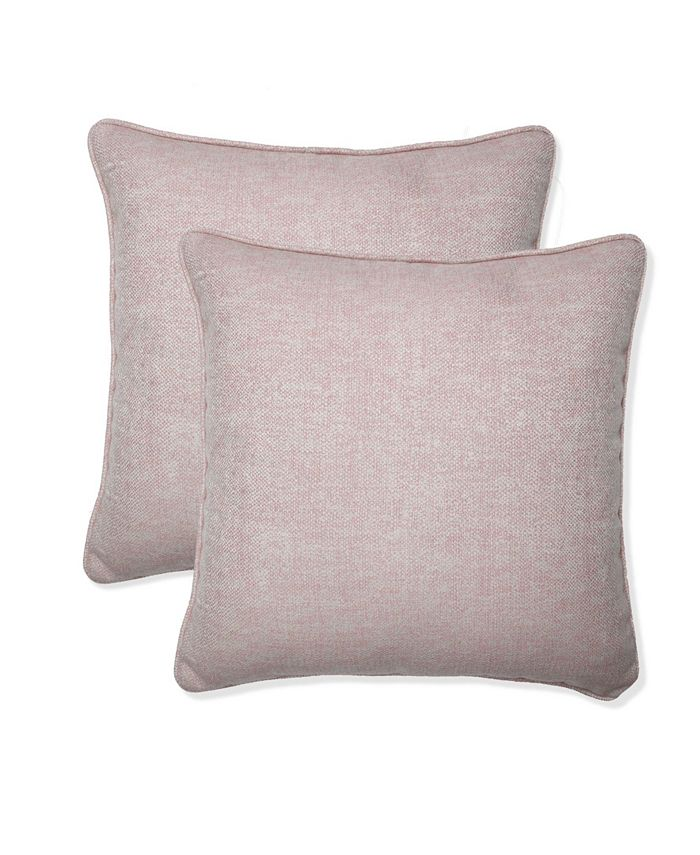 Pillow Perfect Sunbrella 18 X 18 Outdoor Decorative Pillow 2 Pack Reviews Decorative Throw Pillows Bed Bath Macy S