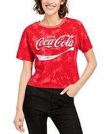 Love Tribe Juniors' Coca-Cola Tie-Dye T-Shirt