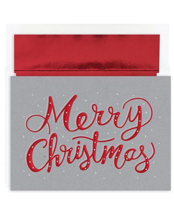 Masterpiece Cards Masterpiece Studios Merry Christmas Sparkle Holiday Boxed Cards