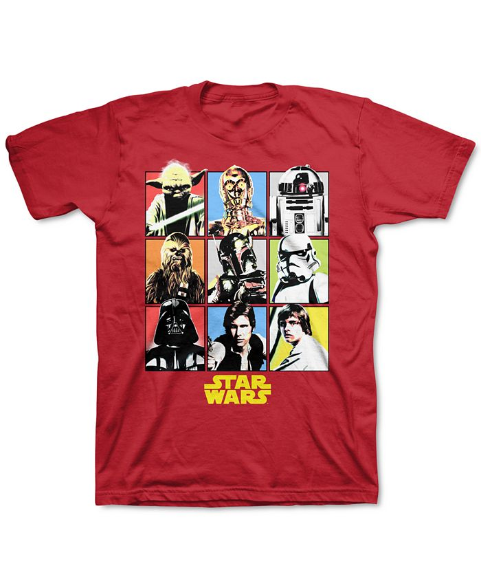 Star Wars - Big Boys Posterize T-Shirt