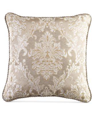 """Croscill Ava 18"""" Square Decorative Pillow"""