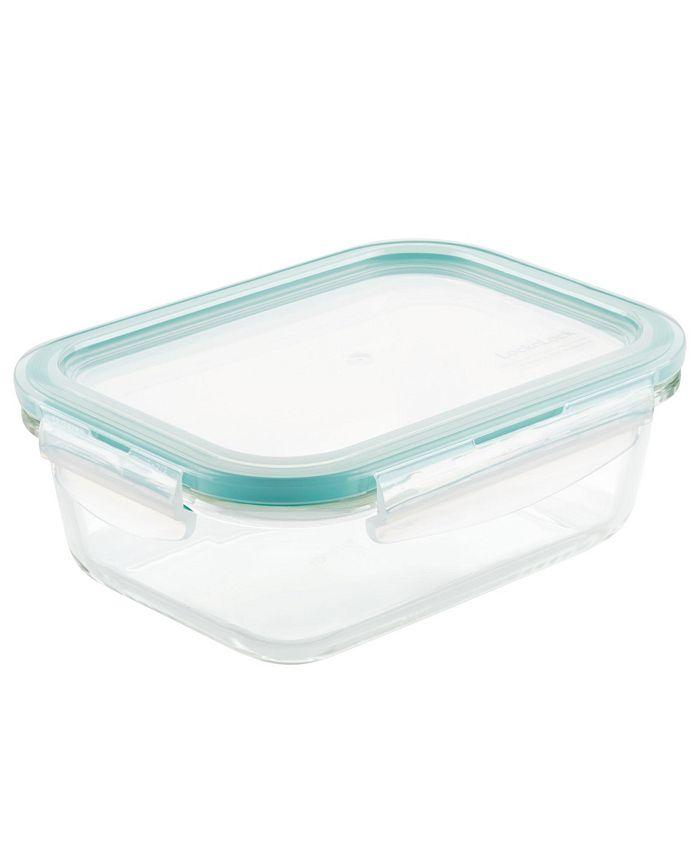 Lock n Lock - Purely Better Glass 21-Oz. Rectangular Food Storage Container