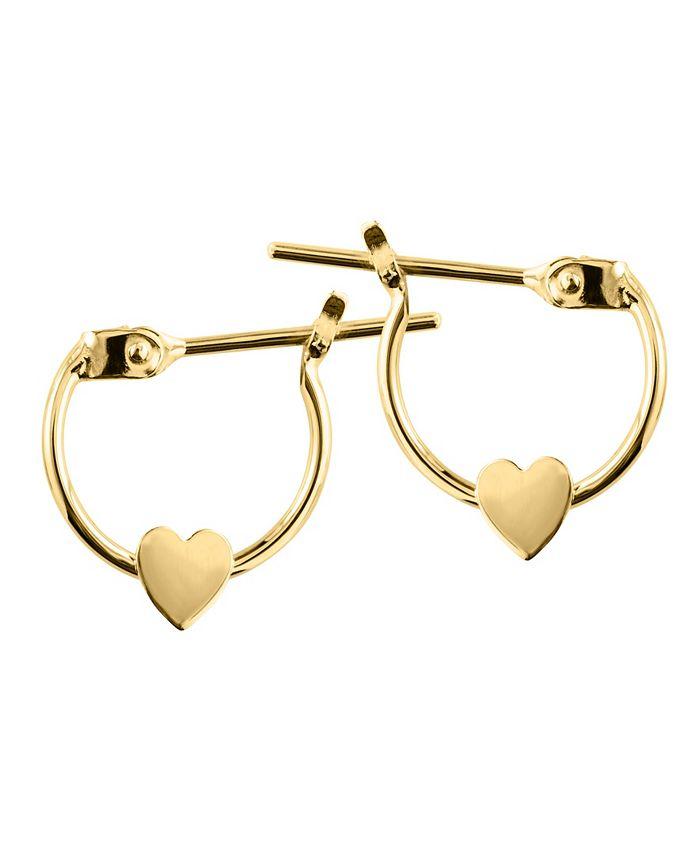 Macy's - Children's Gold Earrings in 14k Yellow Gold