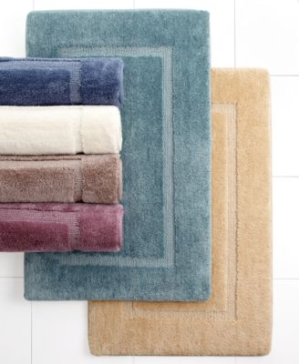 "CLOSEOUT! Martha Stewart Collection Cushion Select Memory Foam 17"" x 24"" Bath Rug"