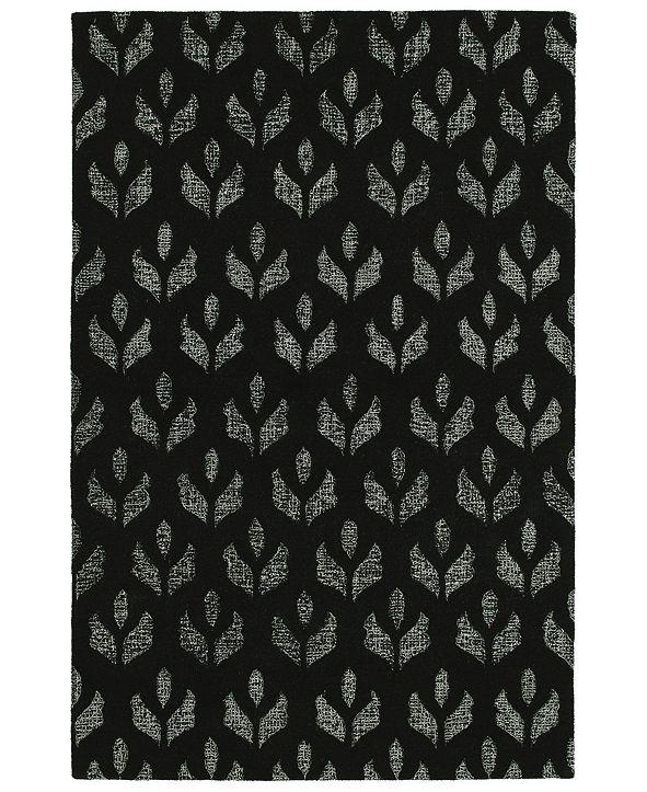 Kaleen Stesso SSO07-02 Black 2' x 3' Area Rug