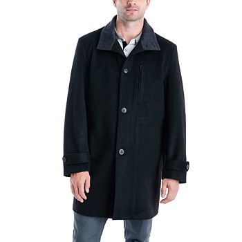 London Fog Men's Clark Classic-Fit Overcoat