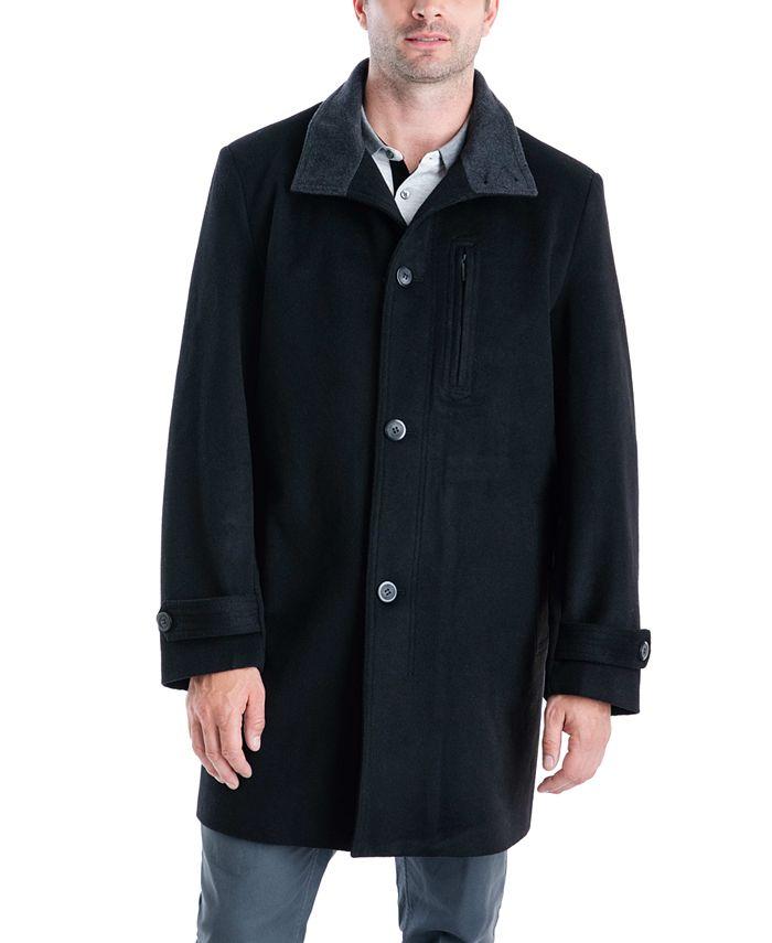 London Fog - Men's Clark Classic-Fit Top Coat
