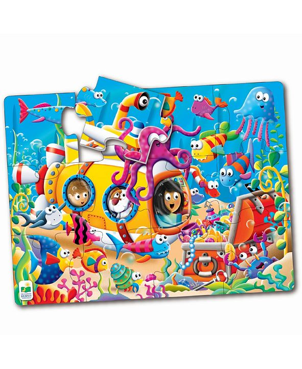 The Learning Journey My First Big Floor Puzzle- Ocean Friends