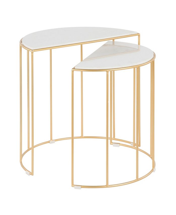 Lumisource - Canary Nesting Table, Quick Ship