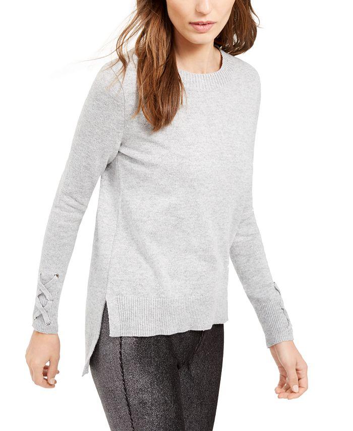 Michael Kors - Tie-Sleeve Sweater, Regular & Petite Sizes