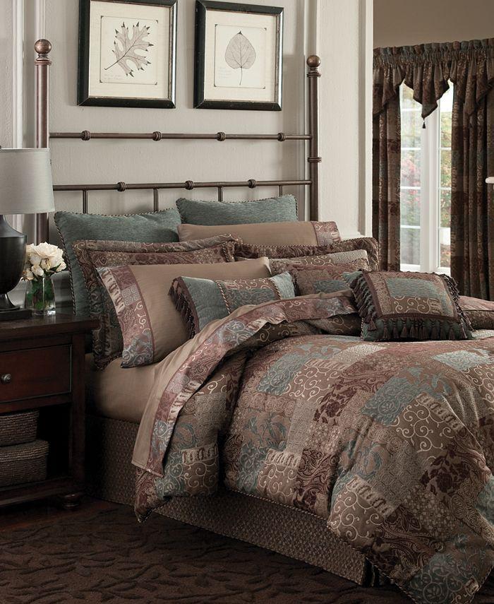 Croscill - Galleria Brown Queen Comforter Set