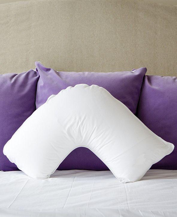 The Pillow Bar Down Alternative Side Sleeper Pillow
