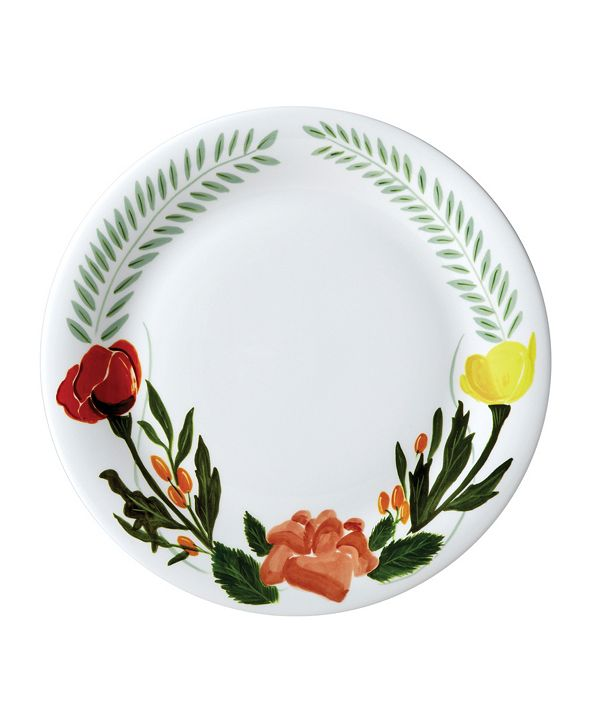 "Twig New York Language of Flowers 10"" Dinner Plate"