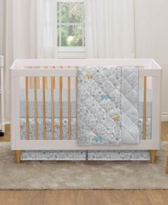 Animal Crackers Crib Sheet