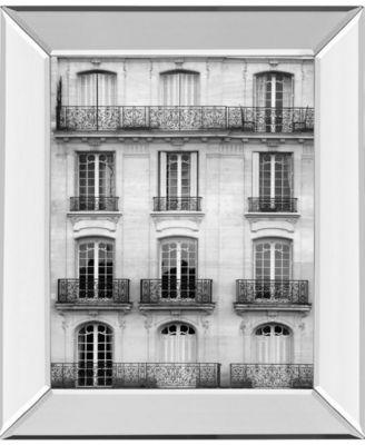 "Across The Street I by Laura Marshall Mirror Framed Print Wall Art - 22"" x 26"""