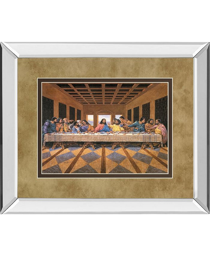 Classy Art Last Supper African American Mirror Framed Print Wall Art 34 X 40 Reviews All Wall Decor Home Decor Macy S