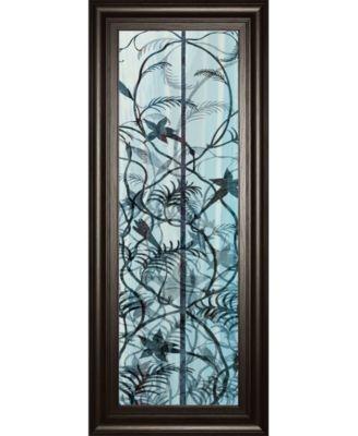 "Climbers Il by James Burghardt Framed Print Wall Art - 18"" x 42"""