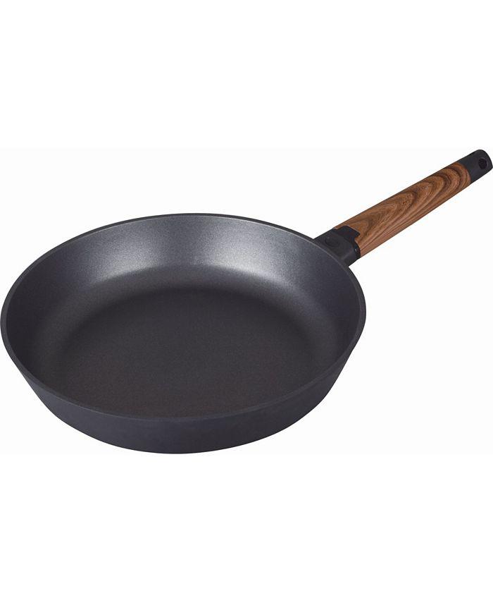 "MasterPan - MP-141 Designer Series Non-Stick Fry Pan w/ Detachable Handle, 12.6"", Black"