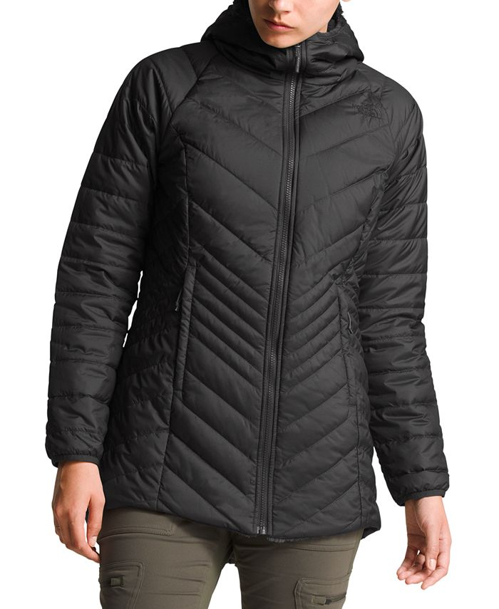 The North Face - Mossbud Hooded Fleece-Lined Reversible Parka