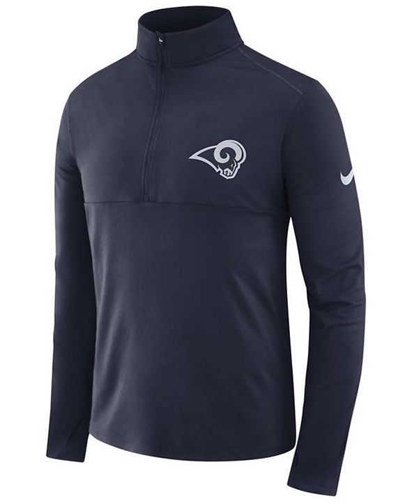 Nike Men's Los Angeles Rams Core Half-Zip Pullover
