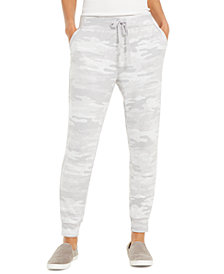 Style & Co Camo-Print Joggers, Created for Macy's
