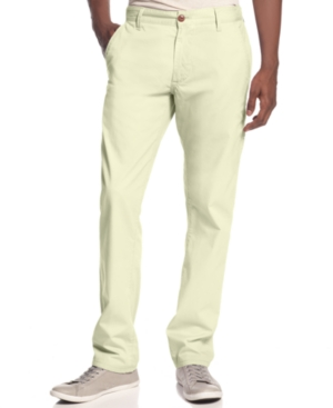 Sean John Pants Clayton Zip Chino Pants