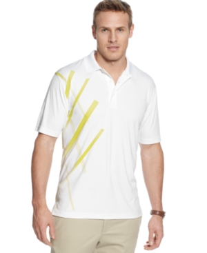 Champions Tour Golf Shirt Golf Argyle with Mesh Graphic Stripe Polo