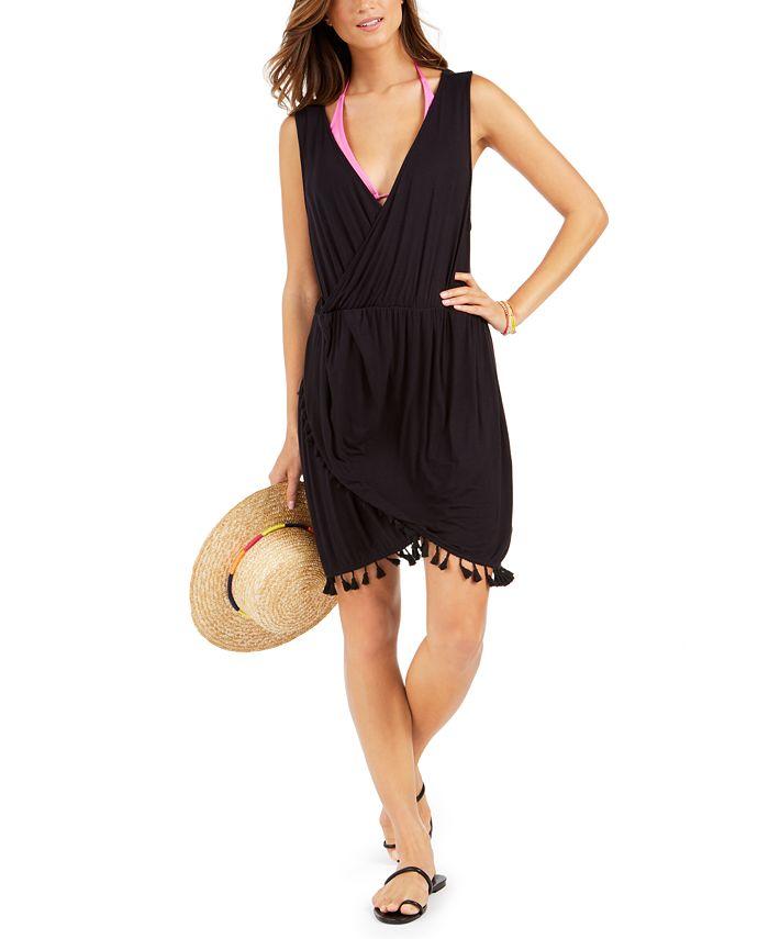 Dotti - Resort Tassel-Trim Dress Cover-Up
