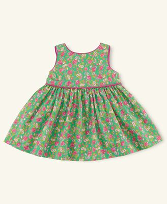 Ralph Lauren Baby Dress, Baby Girls Floral-Print Dress