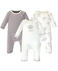 Touched by Nature Baby Boys and Girls Organic Cotton Coveralls