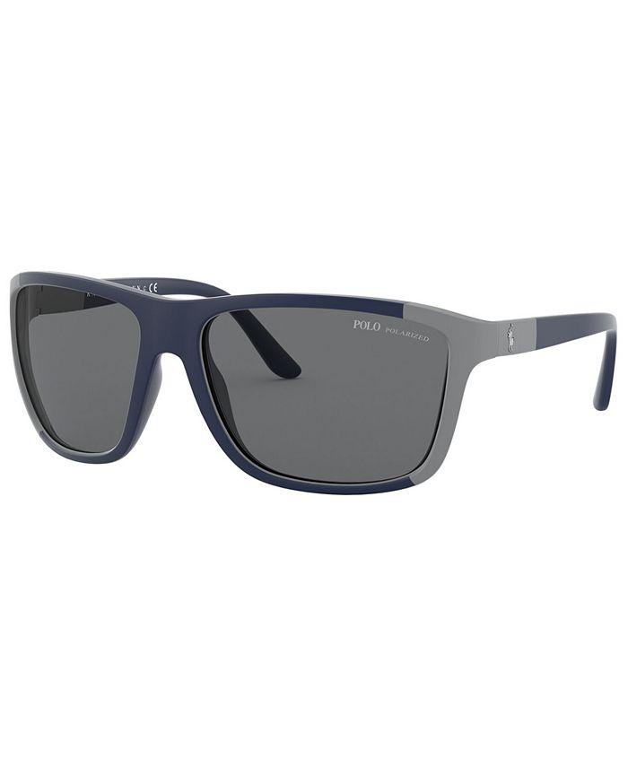 Polo Ralph Lauren - Polarized Sunglasses, PH4155 62
