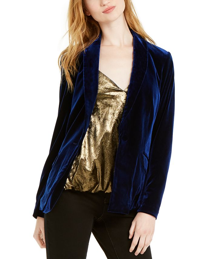 INC International Concepts - Velvet Blazer