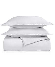 Charter Club Damask Supima Cotton 550-Thread Count 3-Pc. Full/Queen Duvet Cover Set, Created for Macy's
