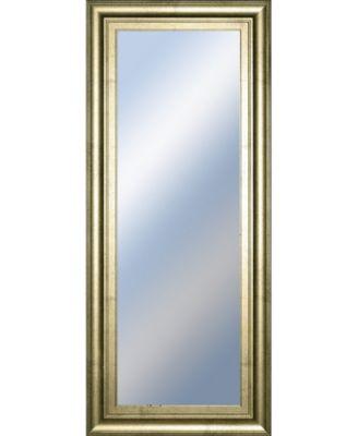 "Decorative Framed Wall Mirror, 18"" x 42"""