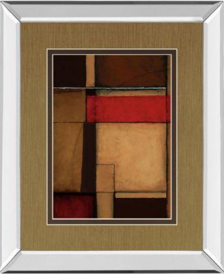 "Gateways II by Patrick St. Germain Mirror Framed Print Wall Art, 34"" x 40"""