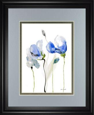"""All Poppies II by Lanie Loreth Framed Print Wall Art, 34"""" x 40"""""""
