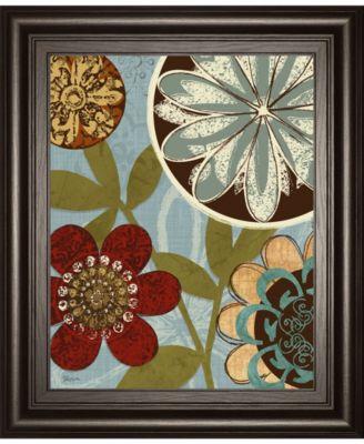 "Persian Garden I by Katrina Craven Framed Print Wall Art, 22"" x 26"""