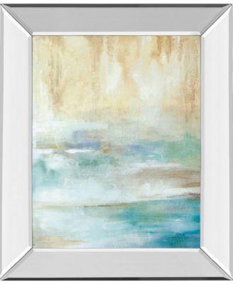 """Through The Mist I by Carol Robinson Mirror Framed Print Wall Art, 22"""" x 26"""""""