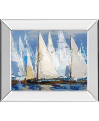 "Fleot II by Paul Duncan Mirror Framed Print Wall Art, 22"" x 26"""