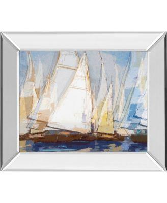 "Fleot I by Paul Duncan Mirror Framed Print Wall Art, 22"" x 26"""