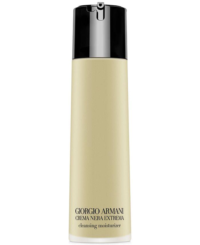 Giorgio Armani - Crema Nera Extrema Oil-In-Gel Cleansing Moisturizer, 5-oz.