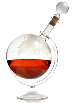 Macy's - Wine Enthusiast Etched Globe Decanter customer reviews ...