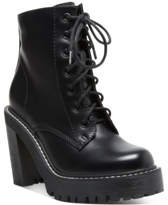 Madden Girl Archie Lug Booties