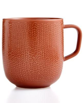 Iittala Dinnerware, Sarjaton Letti Red Clay Mug