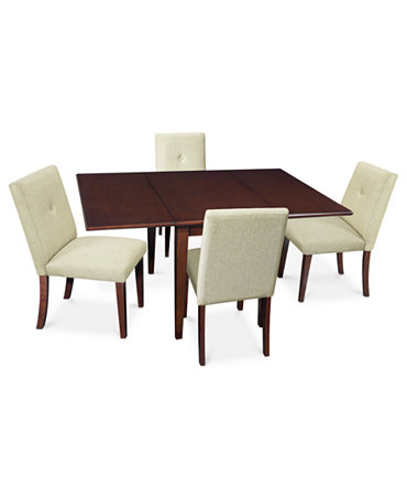 Addison Dining Room Furniture 5 Piece Set Rectangular Dining Table And 4 Ch