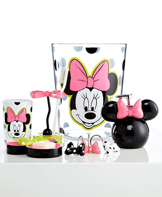 Disney Bath, Neon Minnie Collection - - Macy's
